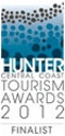 Hunter Central Coast Tourism Awards 2012 Finalist