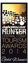 Hunter Tourism Awards 2014 Gold Winner
