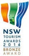 NSW Tourism Awards 2014 Bronze Award
