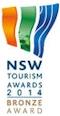NSW Tourism Awards 2014 Bronze Award