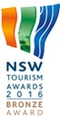NSW Tourism Awards 2016 Bronze Award