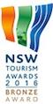 NSW Tourism Awards 2016 Bronze Award