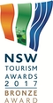 NSW Tourism Awards 2017 Bronze