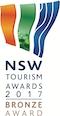 NSW Tourism Awards 2017 Bronze